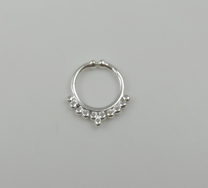 925 sterling silver septum ring indian nose ring